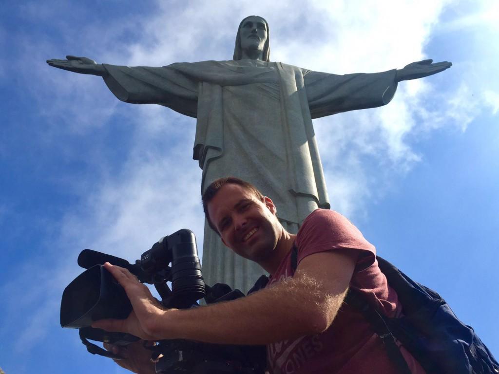 August 2016. Dreharbeiten bei den Olympischen Sommerspielen in Rio de Janeiro