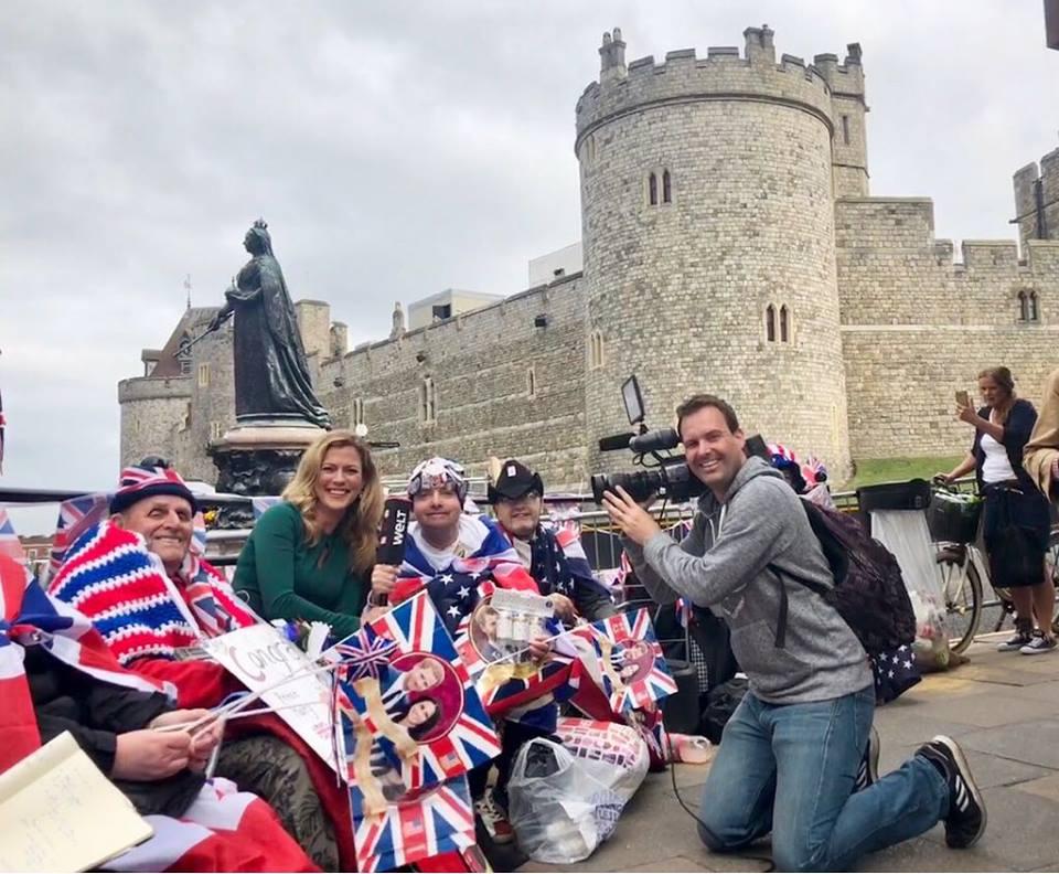 Unterwegs in Windsor zur Hochzeit von Prinz Harry und Meghan Markle
